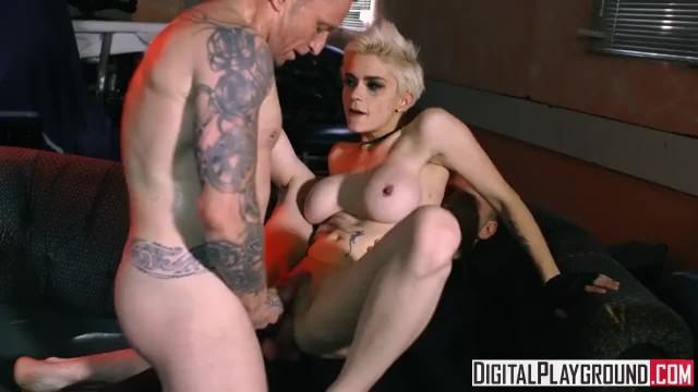Blown away - Mila Milan needs two Cocks