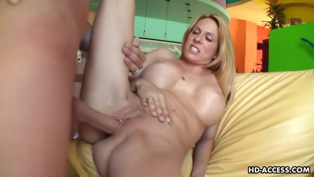 Horny Mature Blondy Enjoys being Pounded Hard