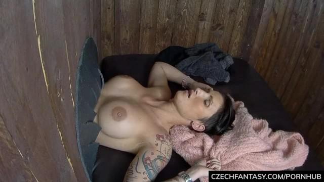 Czech Beauties in the GLORY HOLE