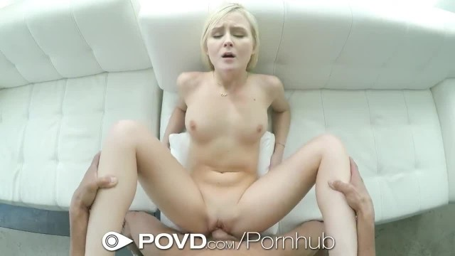 POVD Leaking Creampie INSIDE Tight Shaved Pussy