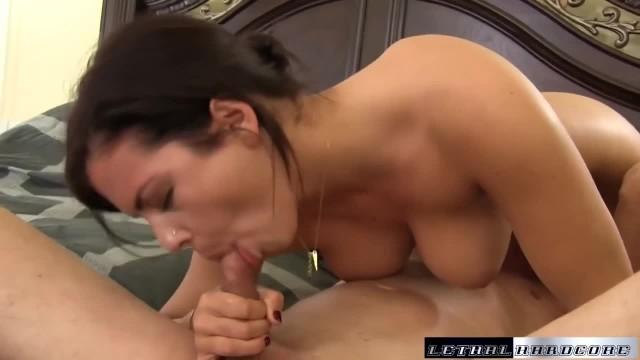 Teen Keisha Grey gives Wet Blowjob Facial Hardcore Fucking