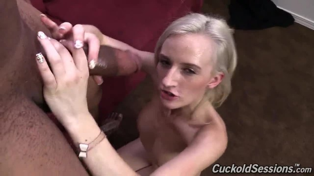 Petite Blonde Teen Pumped with BBC Seed