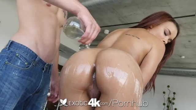 Exotic4K - Raven Redmond Dripping Wet Pussy Fucked