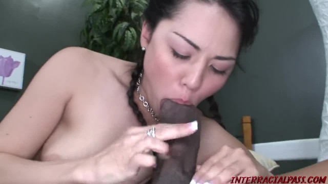Hot Teen Leilani gets a Blackzilla Pussy Stretching
