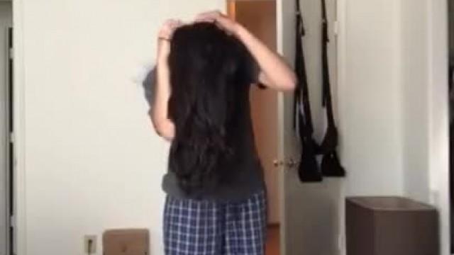 Beautiful Indian Girl Undressing