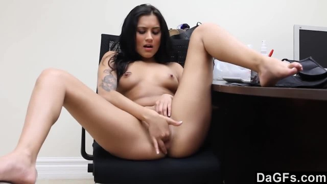 Gorgeous Brunette Fucked by the Casting Agent