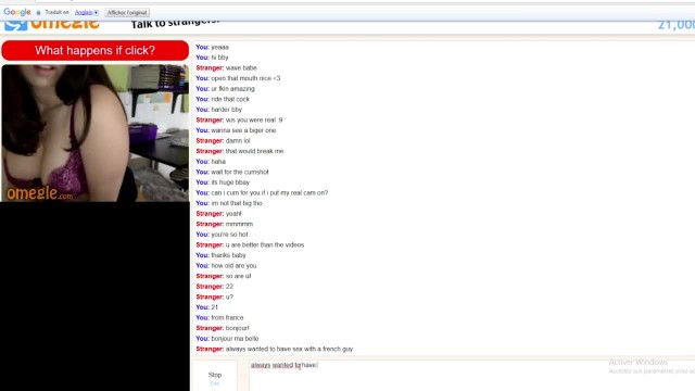 Most Beautiful Omegle Girl Porn