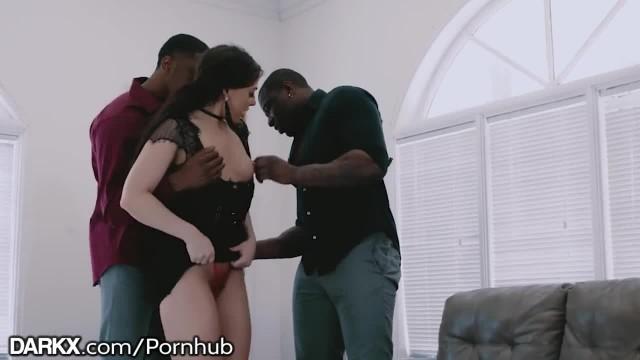 DarkX 2 Huge BBC DP Nice & Easy 4 Big Ass Girl & Orgasms!!