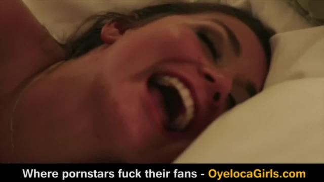 Allie Haze Fucks a Fan