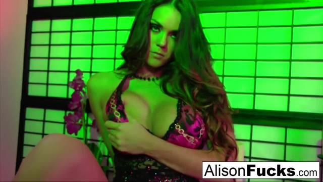 Busty Alison gets Fucked Hard