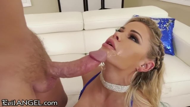 EVIL ANGEL Jessa Rhodes Hard ASS and Face Fucking with Huge Dick