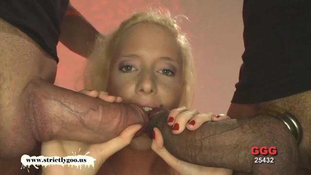 Cute Lucie Loves Monster Cocks - German Goo Girls