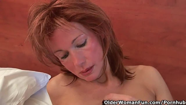 Redheaded Moms Craves Orgasm