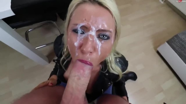 Sexy Blonde Loves Sperm and Piss