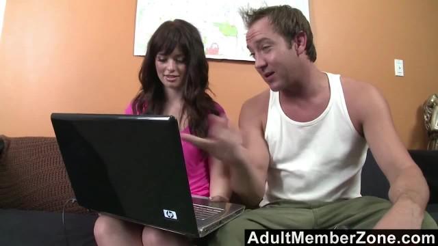 AdultMemberZone - Ashlyn Rae Fucked before her Cam Show