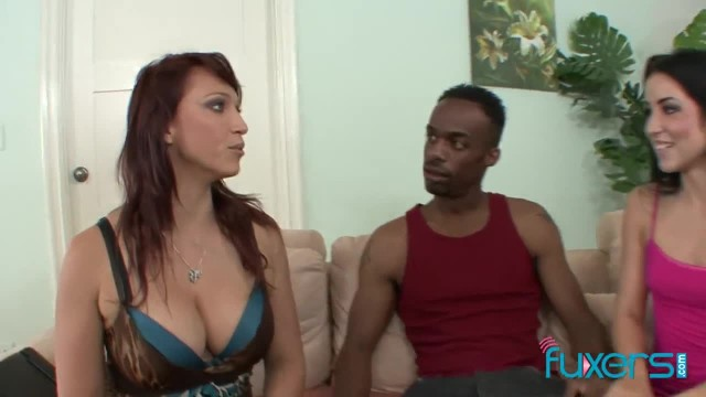 Black Guy Fucks Stepmother and Stepdaughter
