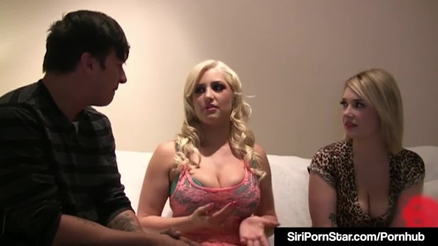 Amazing Siri Pornstar Bangs A Cock with Lover Dayna Vendetta