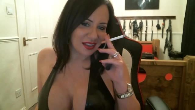 Sexy Mistress Smoking Intructions