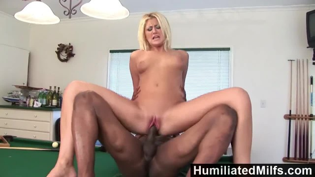 HumiliatedMilfs - Stacy Thorn can't Wait for Thick Black Cock