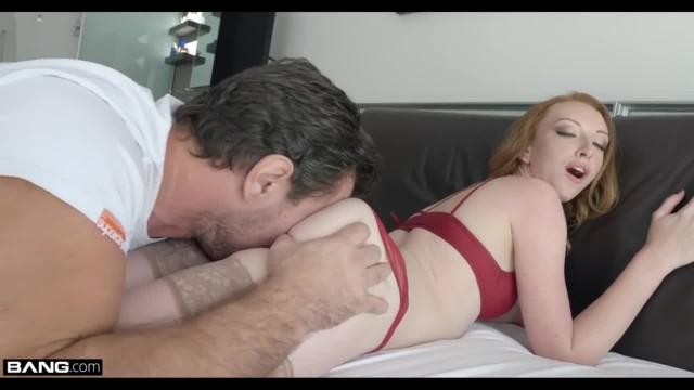 Rammed - Redhead Skinny Girl Fucked Raw