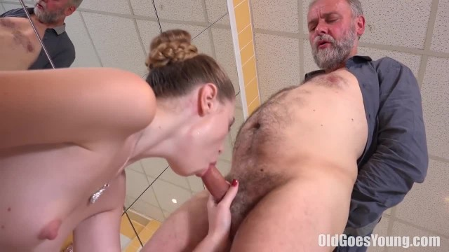 Old goes Young - Teen Glory wants this Guy's Old Dick