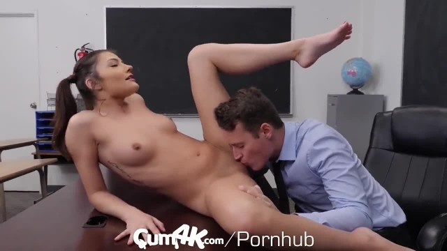 CUM4K-School Girl Fucked in Detention with Multiple Dripping Creampies