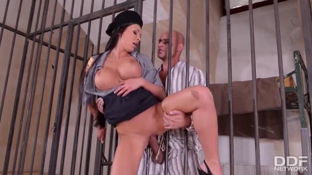 Prison Guard's Fantasies Fucking through the Bars
