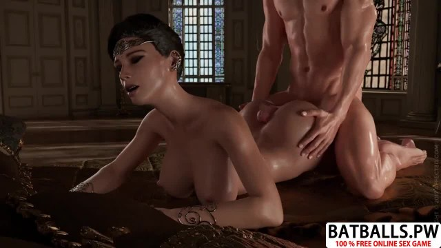 Horny Anime Mommy Riding Cock in Sex Game