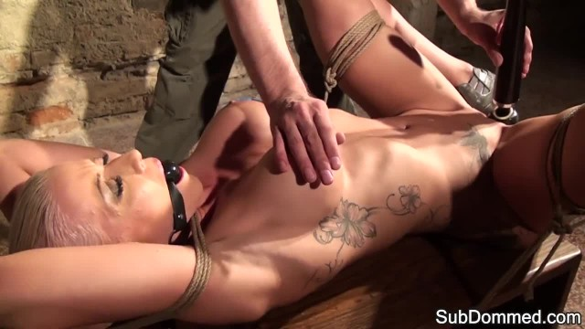 Bigtits Submissive Teased during Bondage