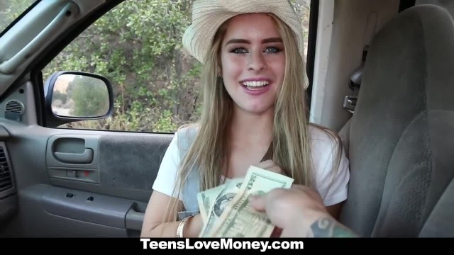 Teamskeet - Adorable Country Teen Offers Pussy for Cash