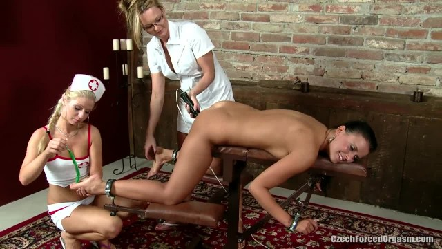 Czech Babe Tied and Tickled to Orgasm