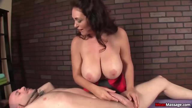 Busty MILF Giving Sexy Cock Treatment