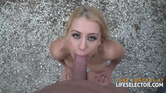 Nikky Thorne - Cute Fuck Whore Pounded Outside