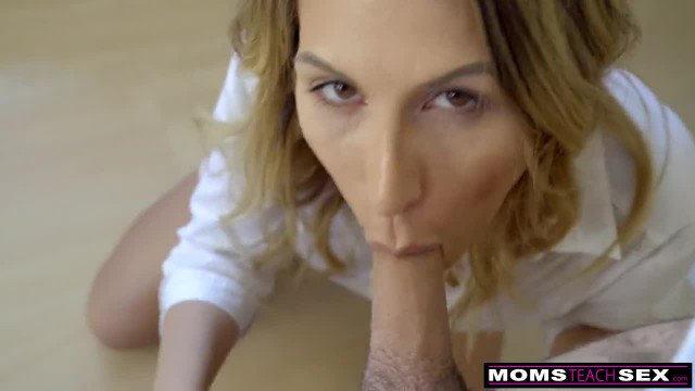 MomsTeachSex - Hot Mom Caught with StepSiblings in Threesome!