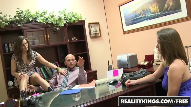 Reality Kings - Hot Teen Fucks her Layer on his Desk
