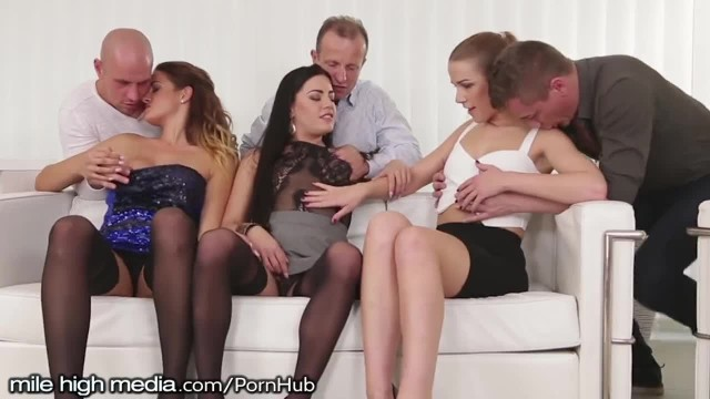 MileHigh Anal Swingers 3 on 3 Wife Swapping Orgy