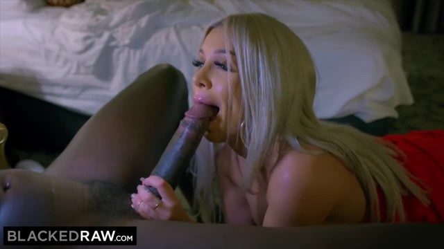 BLACKEDRAW this Blonde Chick is only Motivated by BBC