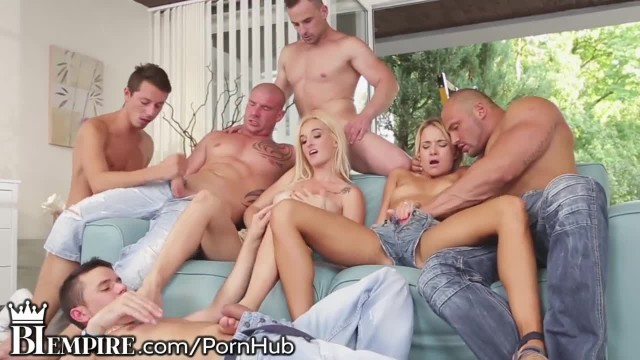 BiEmpire Bisexual Ass Fucking Orgy Train