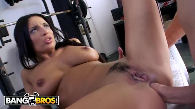 BANGBROS - Latina with Big Ass, Anissa Kate, taking Anal like A Champ