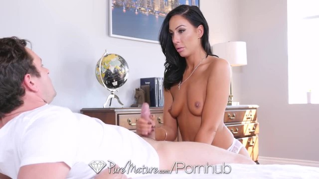 PureMature - MILF Tiffany Brookes Strips off her Lingerie for Fuck Session