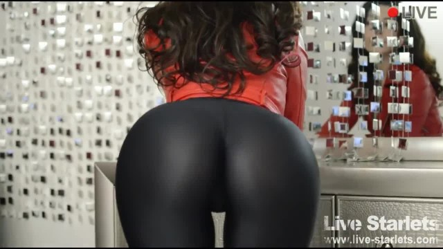 Perfect Ass in Tight Leggings Teasing