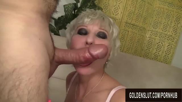 Well Preserved Grandma Dalny Marga Blows a Boner before getting Fucked