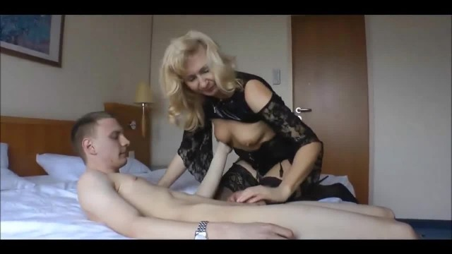 Cuckolding Mature Wife Fucking an 18 Year old Guy