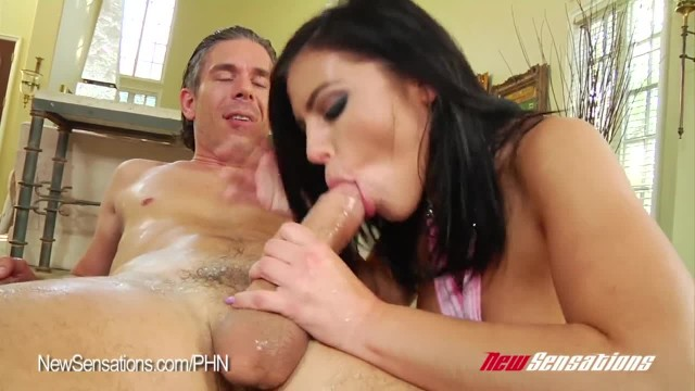 Adriana Chechik Squirts Buckets and Eats Cum