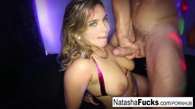 Stacked Natasha Rides Robby's Dong until they both Cum