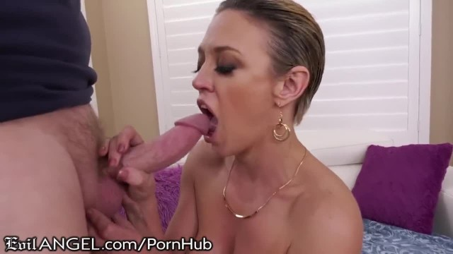 EvilAngel Phat Ass MILF Cums Hard with Cock in ASS