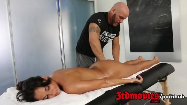 Sensual Massage with Busty Brunette Ava Addams