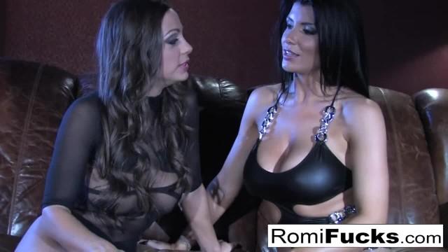 Busty Romi Rain having Hot Lesbian Sex