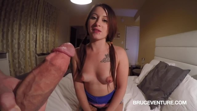 Thot with Puffy Pussy Creampied by Stranger's Massive Cock POV