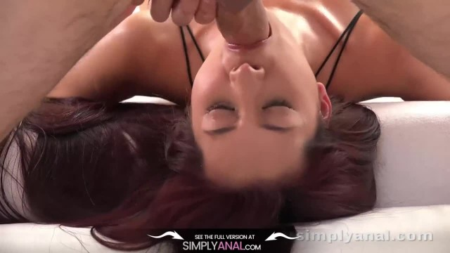 Ass Fucking - Stunning Christy Charming Sucks and Enjoys Anal